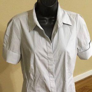 Ann Taylor blouse button down shirt size 6